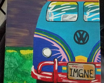 VW Bus painting