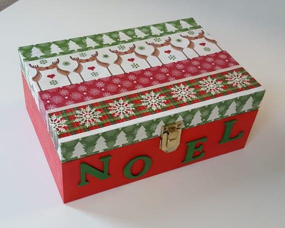 Christmas special wooden tea box