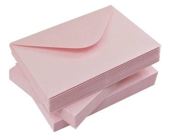 Pink Pearl Sparkle Silver Envelopes   Set of 50   120g   C6 or DL