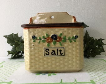 1930's Wall Mount Salt Cellar
