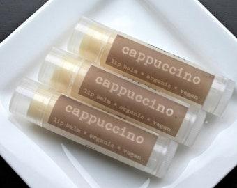 Cappuccino Vegan Lip Balm