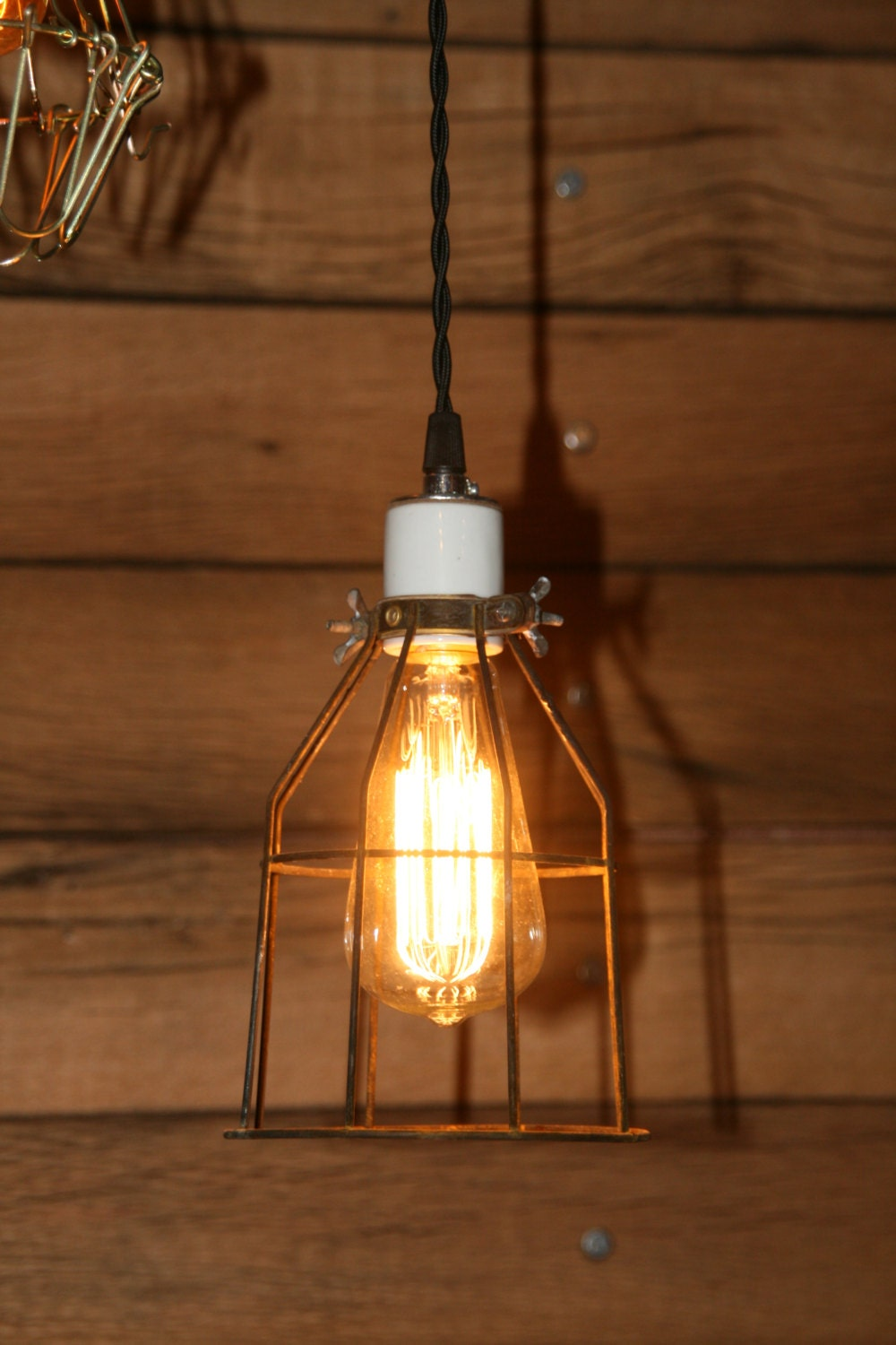 Industrial hanging pendant light swag light with vintage zoom arubaitofo Gallery