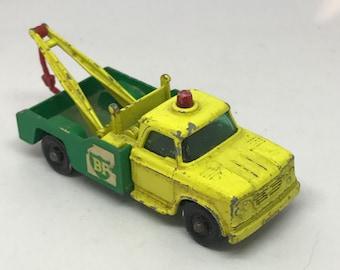 No13 Dodge Wreck Truck BP Lesney Matchbox series