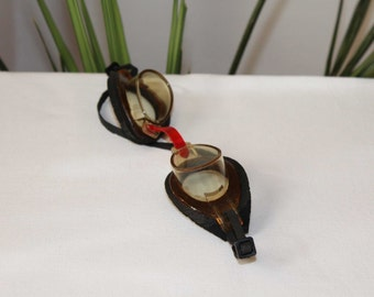Vintage USSR 1970s Swimming Glasses / Goggles Sport