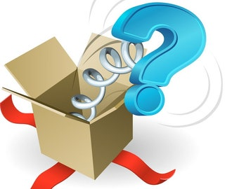 Mystery Box! Glass Beads & Components! (25 -600 Dollar Value)