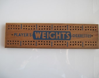 Players Weights Cribbage Board