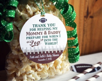 Baby Shower Themes Ready To Pop ~ Football baby shower etsy