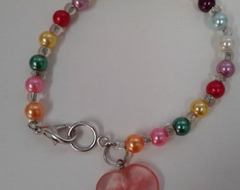 The Candy Heart bracelet