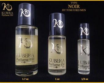 Type Noir perfume in oil for men 1/3oz 1oz 1.7oz