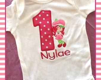 Strawberry Shortcake Birthday T-Shirt