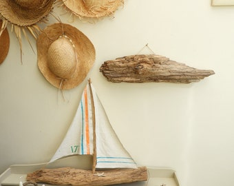 Decor edge - sea Sulpture Driftwood - Driftwood - driftwood Art Art fish
