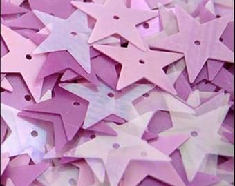 Lavender Mist Star Mix 15mm - JR02360