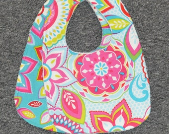 Terry Cloth Baby Bib/Multiple Fabrics Available