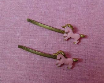 Sweet Lolita Unicorn Hairpin (set of two)