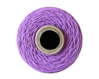 Purple Bakers Twine - Solid Lilac - 240 Yard Spool