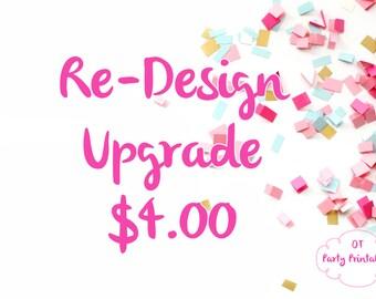 Re-Design Upgrade