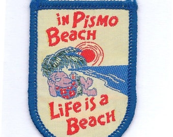 Vintage Pismo Beach California Patch