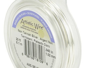 NON-TARNISH Silver and Brass (GOLD) Artistic Wire in 24, 22, 20 and 18 gauge-Restocked!!