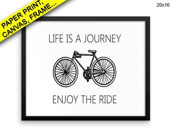 Life Is A Journey Prints Life Is A Journey Canvas Wall Art Life Is A Journey Framed Print Life Is A Journey Wall Art Canvas Life Is A Decor