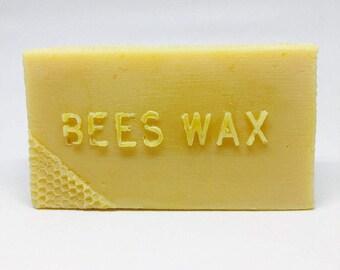 Pure Natural Beeswax 1lb bar