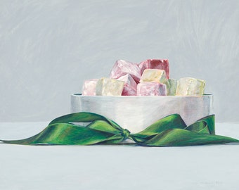 Edmund's Turkish delight. Limited edition giclée print.