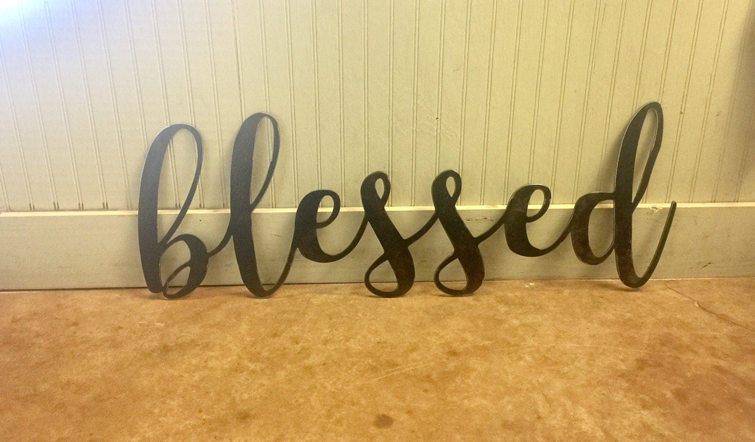 Perfect Blessed Metal Wall Decor Component - Wall Art Ideas ...