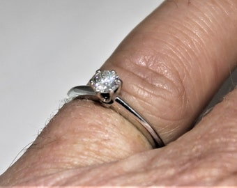 Tiffany and Company Platinum diamond ring