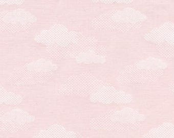 Pink Clouds Fabric, Red Rooster Sweet Dreams 24457, Pink Clouds Quilt Fabric, Pink Baby Quilt Fabric, Baby Girl Fabric, Cotton