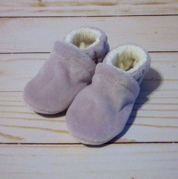Lavender: Soft Sole Baby Shoes 0-3M