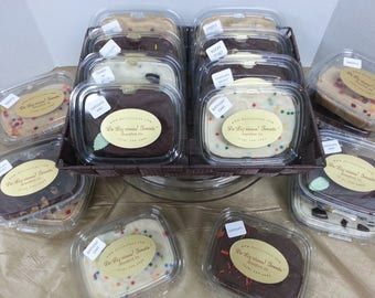 Fudge 1/2 LB, Creamy, Chocolate, Hand Made, Small Batch, Gourmet, Assorted Flavours, Wedding Favours, Party Favours