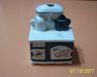 Stove Instant Coffee Container