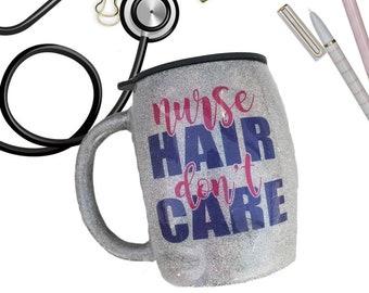 Nurse Coffee Mug - Nurse Tumbler - Travel To-Go Cup - Nurse Life - Travel Coffee Mug - Monogram Stainless Yeti Tumbler - Gift for Nurse