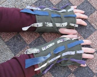 Scrappy Wrist Warmers