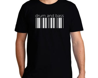Drum And Bass Barcode T-Shirt