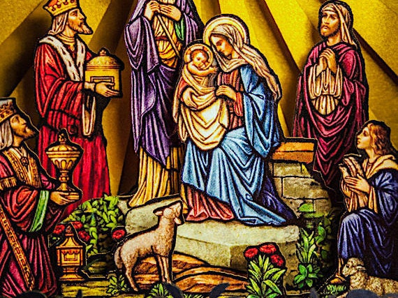 Christmas Pop Up Card, Nativity Scene, Paper Craft, Origami, Kirigami, Christmas  Card, Christmas Greeting, Paper Craft, Paper Model, Jesus