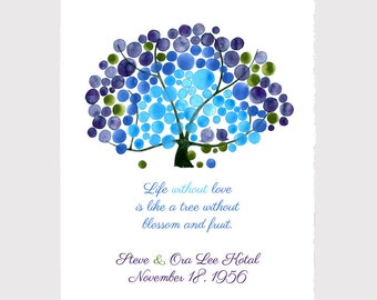 Celebration Anniversary Baby shower gift print - Personalized typography quote Wall room decor art