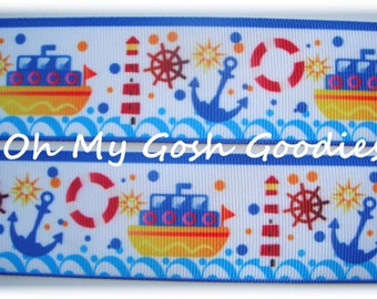 "ANCHOR SWEETIE WAVE Grosgrain Ribbon 1.5"" - 5 Yards - Oh My Gosh Goodies Ribbon"