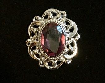 Sterling Silver Brooch/Pendant