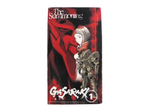 Gasaraki Vol 1 The Summoning VHS
