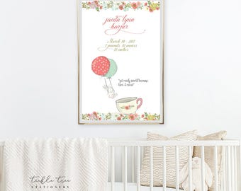 Art Print - Birth Poster, Get Ready World (W00019)
