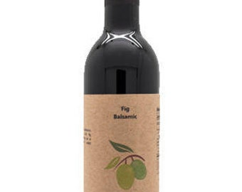 Fig-Lemon Dark Balsamic Vinegar, 12.6oz.