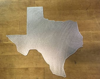 Texas State Outline Border