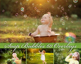 60 Bubbles Overlays Bubbles Photoshop Overlays  Soap Bubbles Overlay  Bubbles Photo Overlays Soap Bubbles Overlays