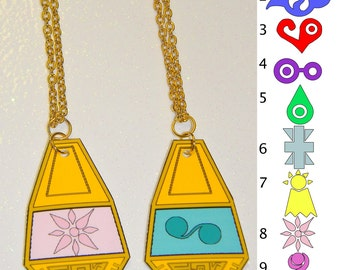 Digimon Tag and Crest Necklace