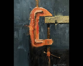 "Rusty Clamp 5""x 7"""