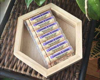 Lavender & Lemon lip balm by Cire d'Abeille® Skin Care - Gluten Free