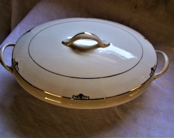 Edwin Knowles Tureen with Lid circa 1920s