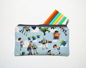 toy story  Zipper Pouch, Pencil Pouch, Pencil Case,