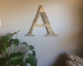 Alphabet Letters   Reclaimed Wood   Pallet Sign   Home Decor   Wall Art   Rustic Decor   Barn wood  