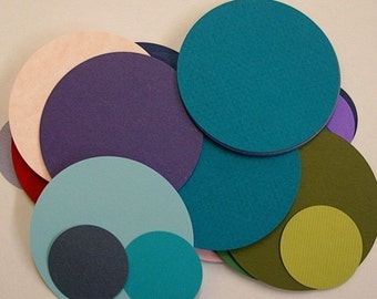 Cardstock Circles- Pkg of 50